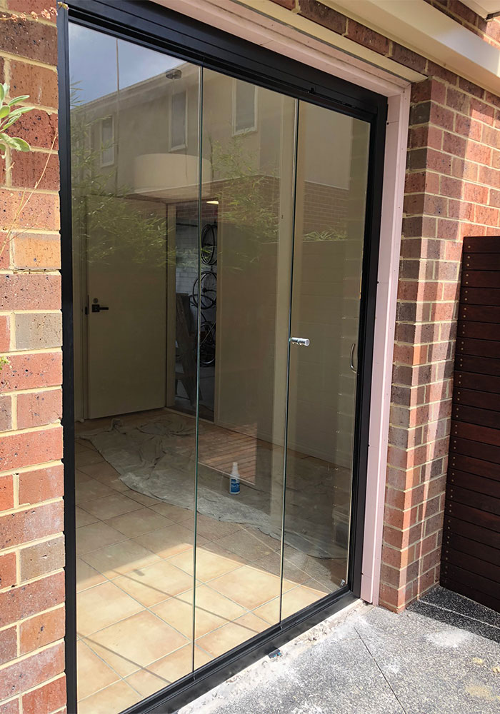courtyard external door retrofit