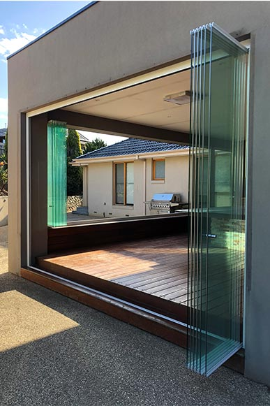 Frameless Sliding Doors